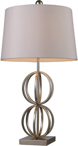 "29""h Donora 1-Light Table Lamp Silver Leaf"