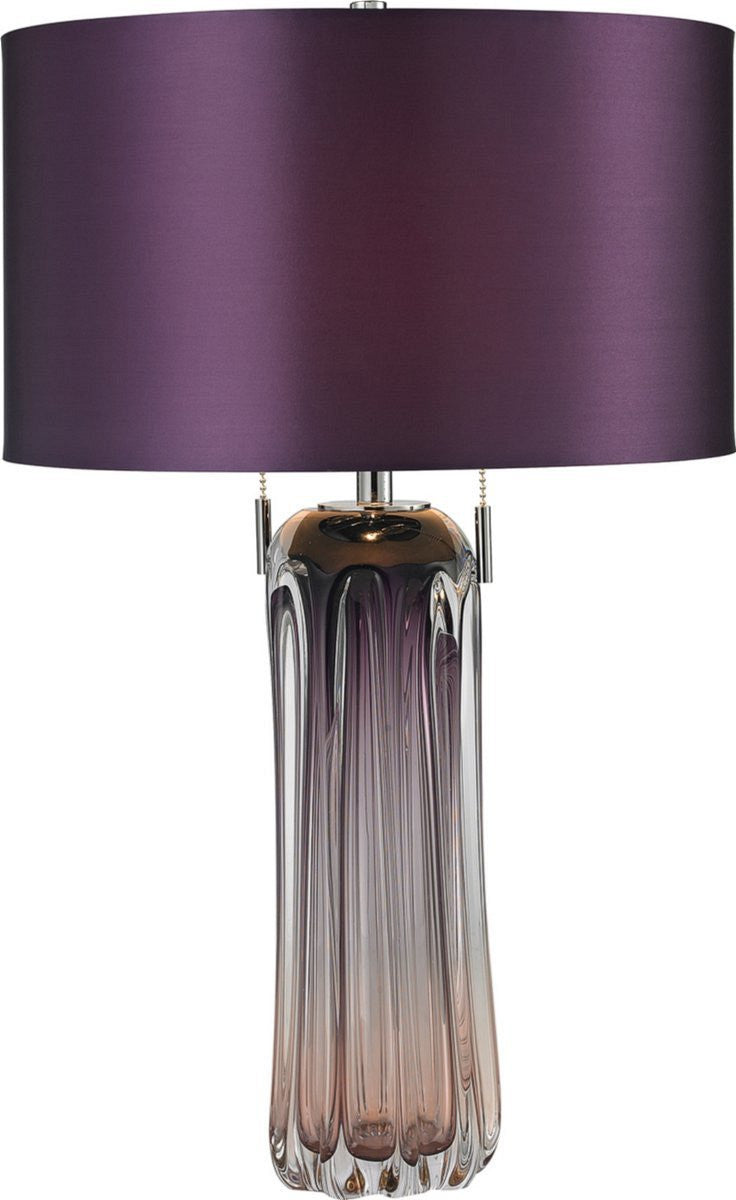 Ferrara 2-Light Table Lamp Purple