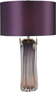 Dimond Ferrara 2 Light Table Lamp Purple D2661