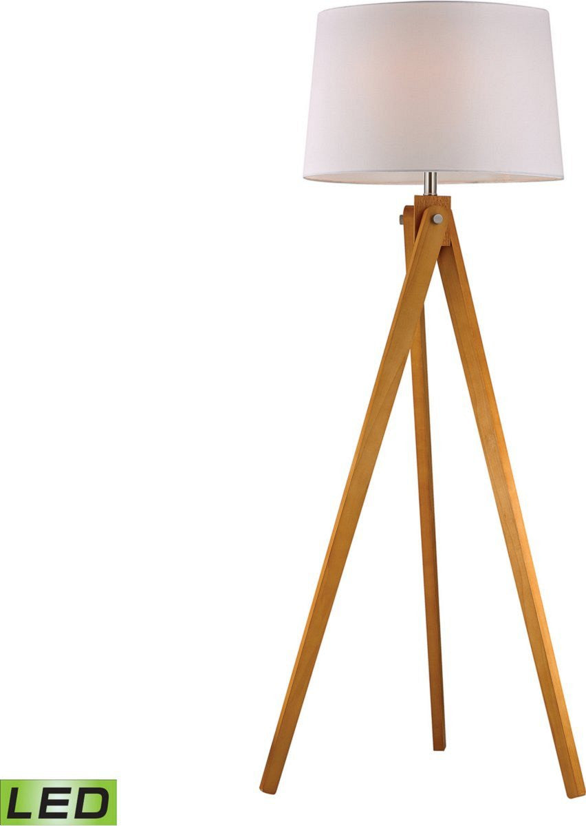 1-Light LED Tripod Floor Lamp
