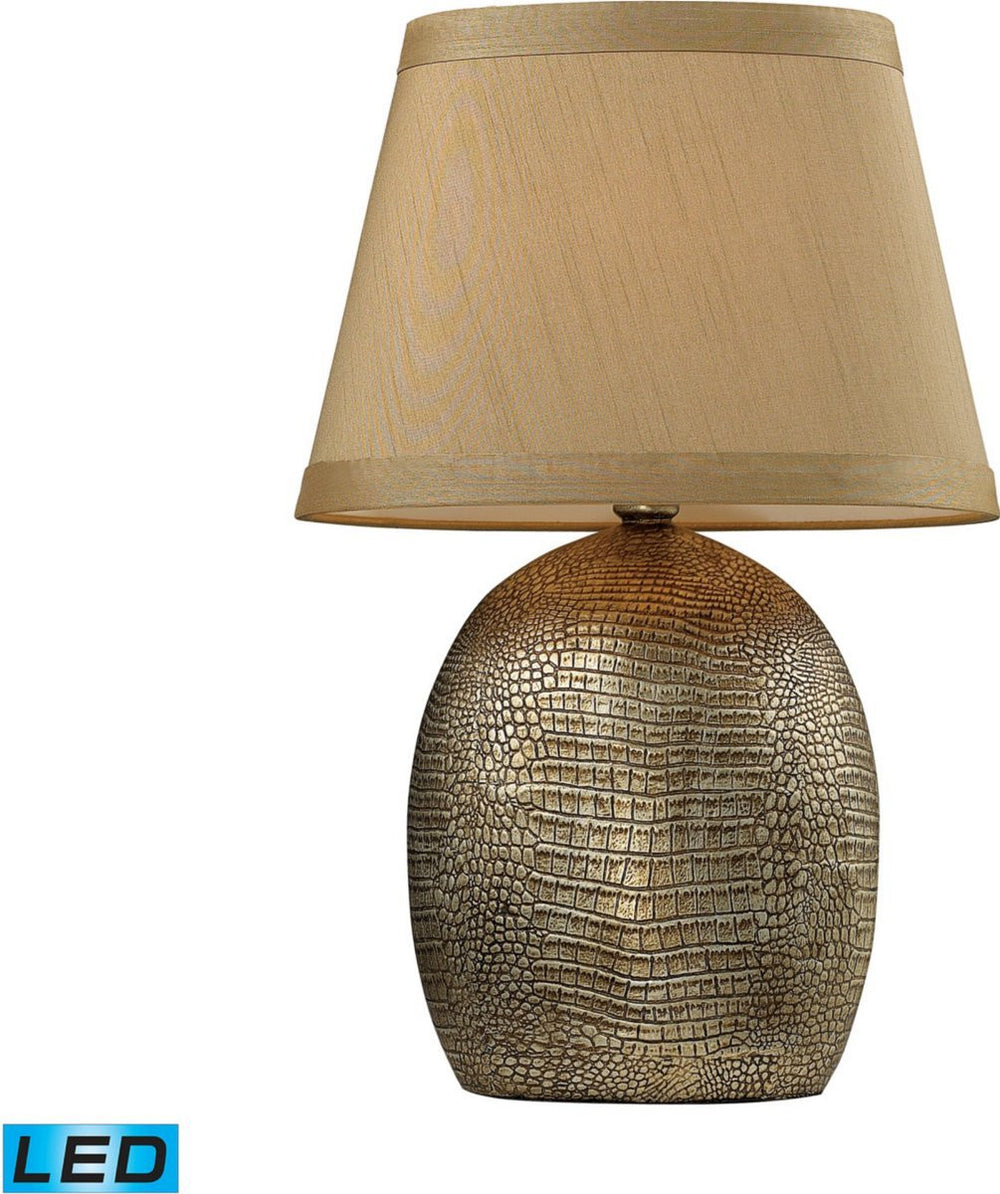 Gilead 1-Light LED Table Lamp Meknes Bronze
