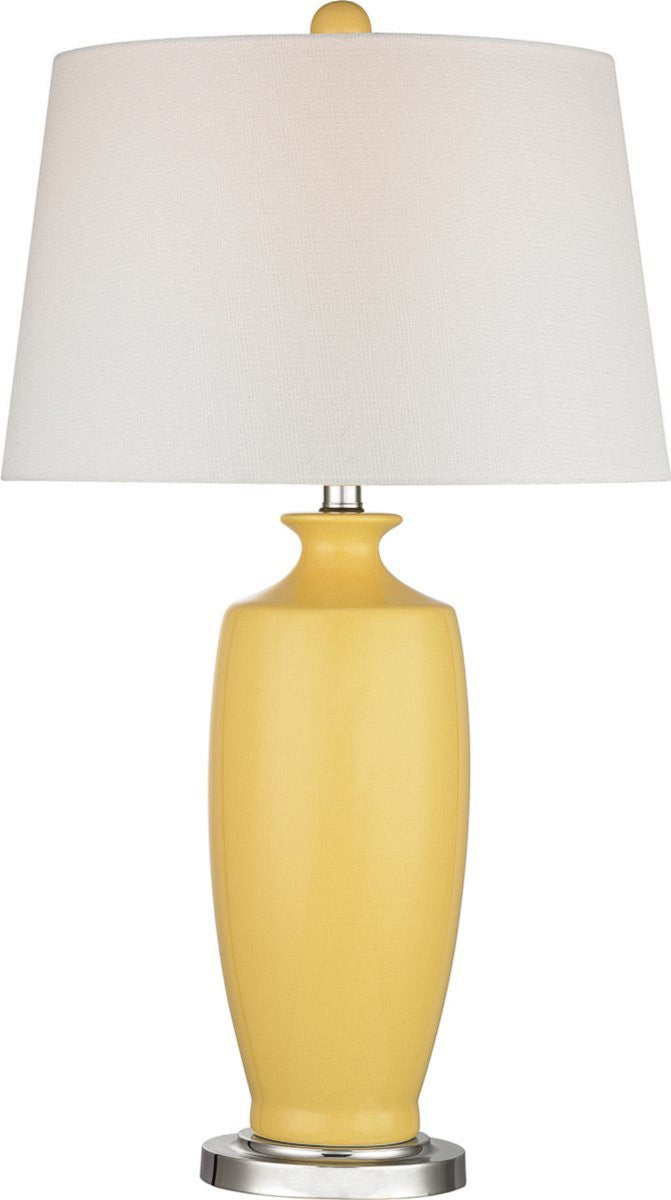 Halisham 1-Light 3-Way Table Lamp Sunshine Yellow