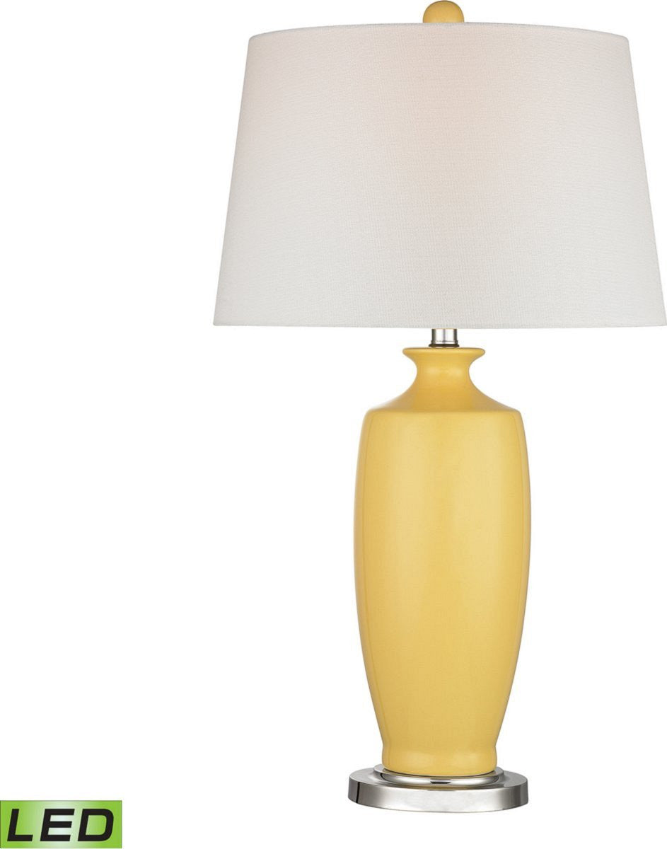 Halisham 1-Light LED 3-Way Table Lamp Sunshine Yellow