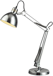 Dimond Ingelside 1-Light LED Desk Lamp Chrome D2176-LED
