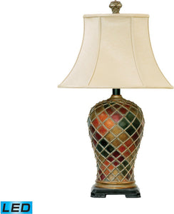 Dimond Joseph 1 Light Led 3 Way Table Lamp Bellevue 91152Led
