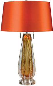 Dimond Modena 2-Light LED Table Lamp Amber D2669-LED