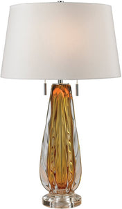 Dimond Modena 2-Light LED Table Lamp Amber D2669W-LED
