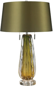 Modena 2-Light LED Table Lamp Green