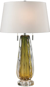 Dimond Modena 2-Light LED Table Lamp Green D2670W-LED