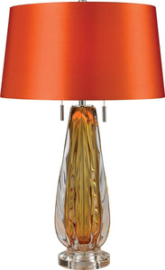 Dimond Modena 2 Light Table Lamp Amber D2669