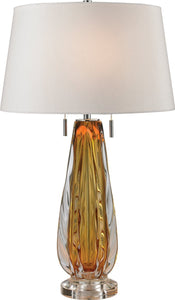 Modena 2-Light Table Lamp Amber
