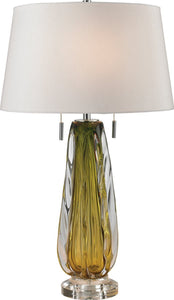 Dimond Modena 2 Light Table Lamp Green D2670W