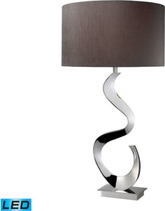 Dimond Morgan 1 Light Led 3 Way Table Lamp Chrome D1820Led
