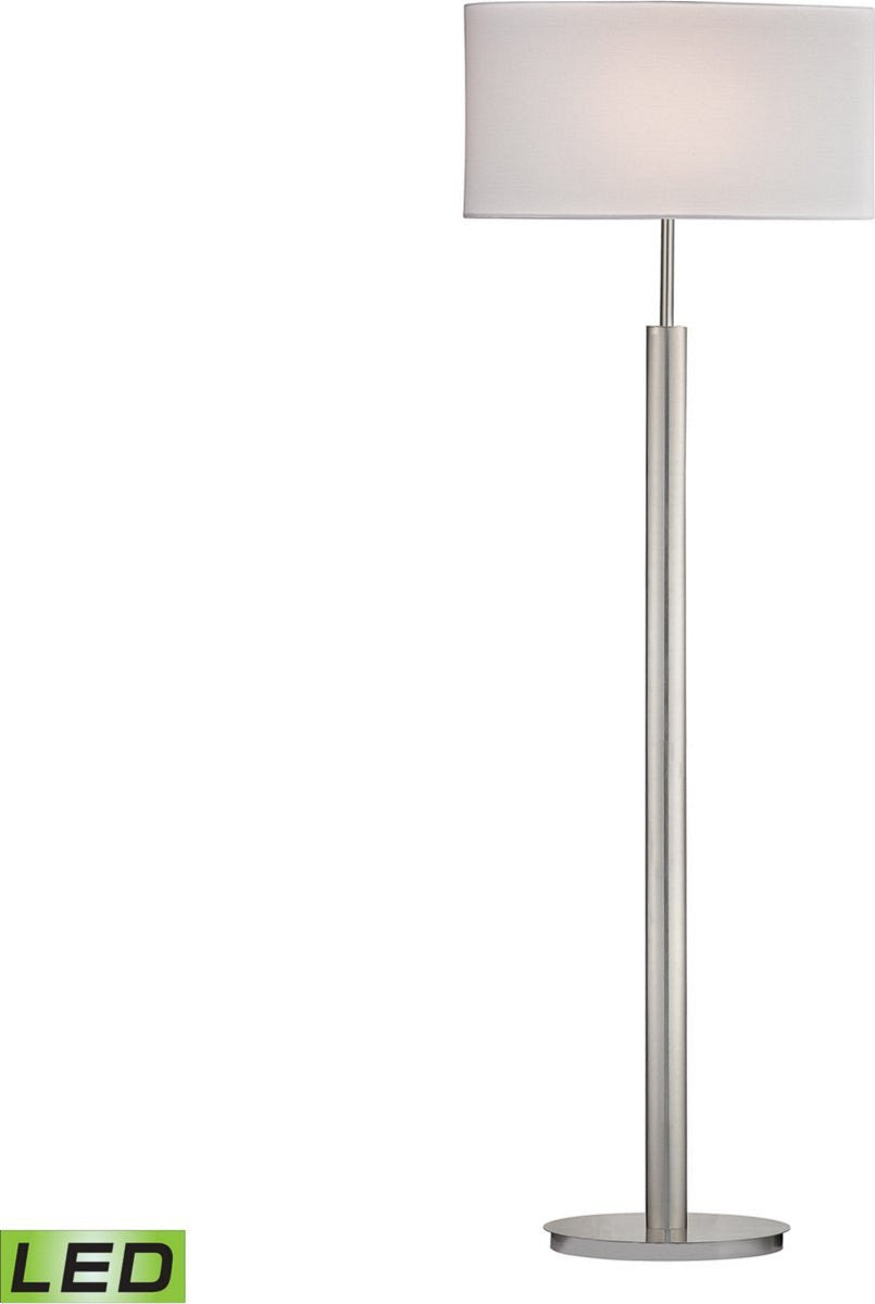 Dimond port elizabeth floor lamp satin nickle d2550led lampsusa port elizabeth 1 light led 3 way floor lamp satin nickle aloadofball Gallery