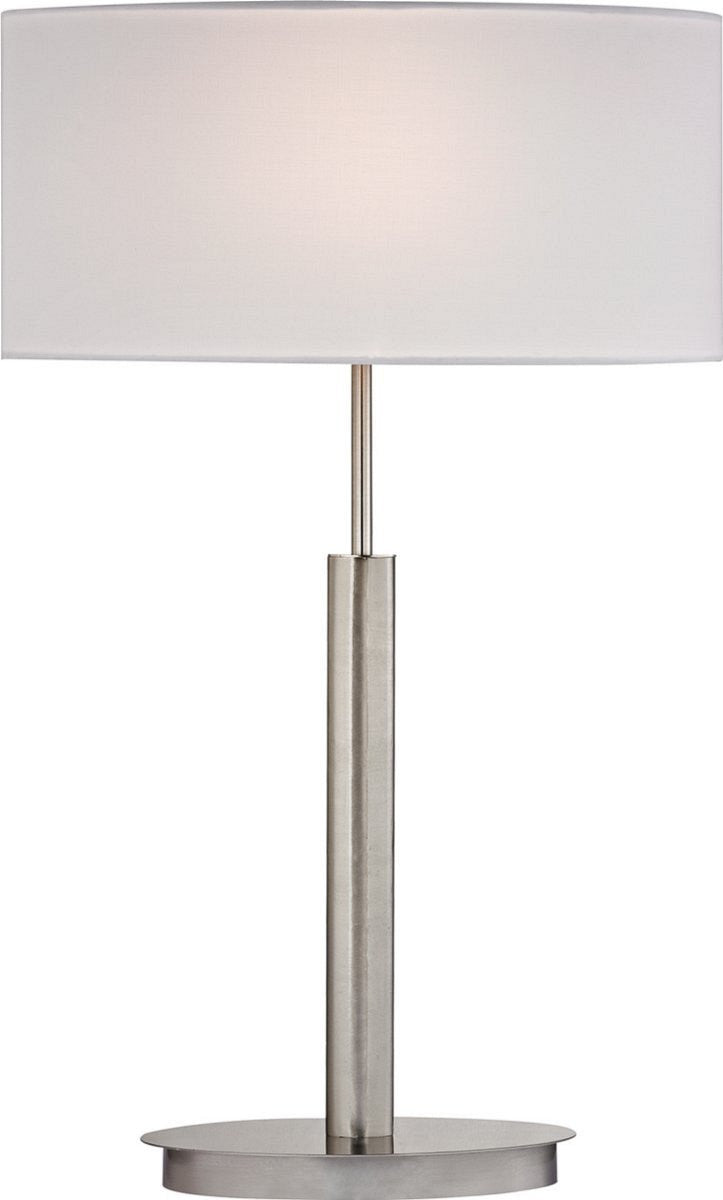 Port Elizabeth 1-Light Table Lamp Satin Nickle