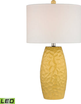 "27""H Selsey 1-Light LED 3-Way Table Lamp Sunshine Yellow"