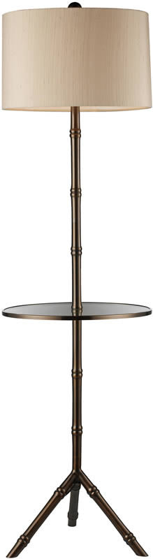 "Stanton 59""H 1-Light Tripod and Shelf Floor Lamp Dunbrook"