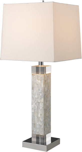 Dimond Luzerne 1-Light Table Lamp Mother Of Pearl D1412