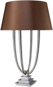 "34""h Harris On/Off Line Table Lamp Chrome"