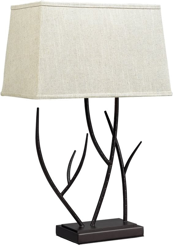"27""H Winter Harbour Table Lamp Bronze"
