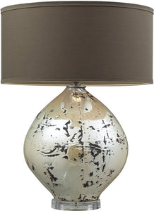 "25""h Limerick 3-Way Table Lamp Turrit Gloss Beige"