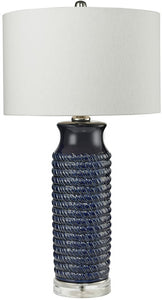 Dimond 1-Light 3-Way LED Table Lamp Navy Blue D2594-LED