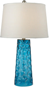 1-Light 3-Way LED Table Lamp Blue