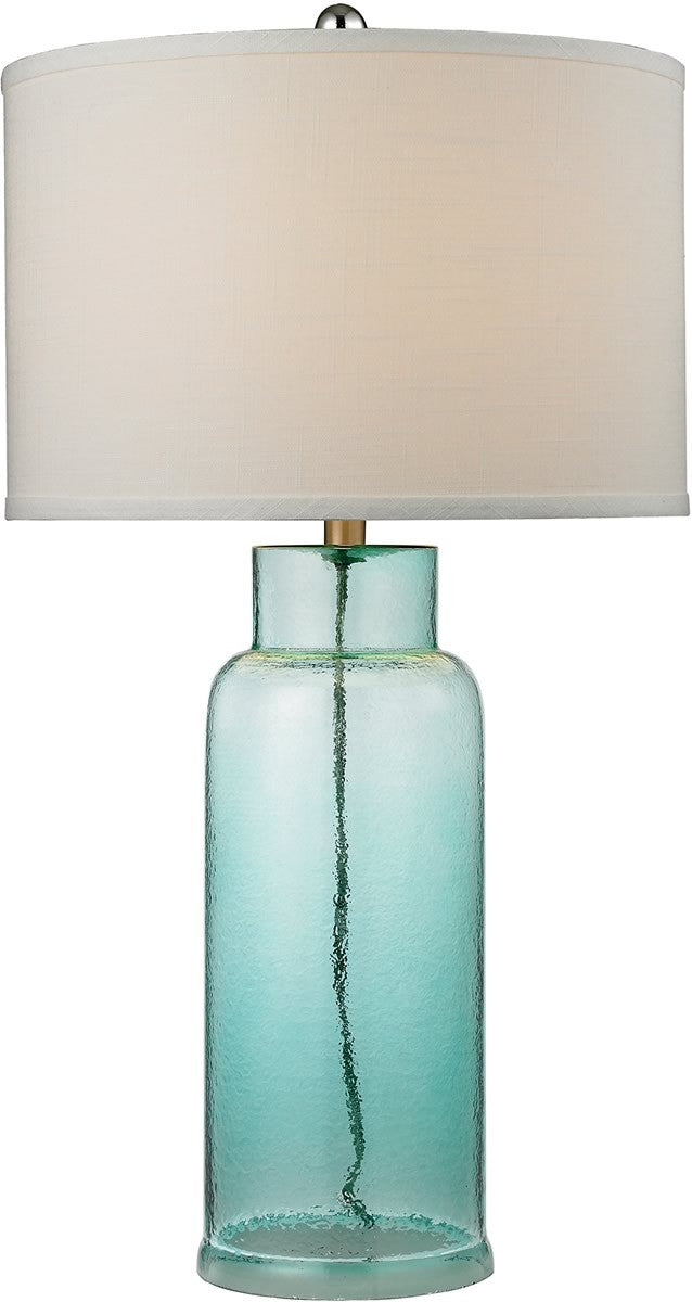 1-Light 3-Way Table Lamp Seafoam