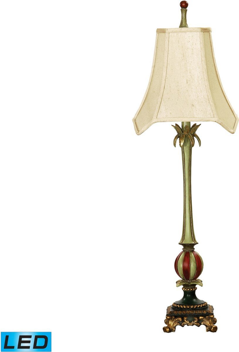 "35""H Whimsical Elegance 1-Light LED Table Lamp Columbus"