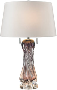 Dimond Vergato 2-Light LED Table Lamp Purple D2663W-LED