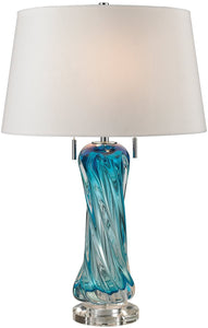 Dimond Vergato 2-Light LED Table Lamp Blue D2664W-LED