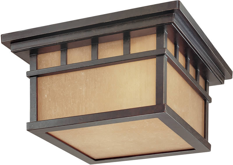 "12""W Barton 2-Light Ceiling Winchester"