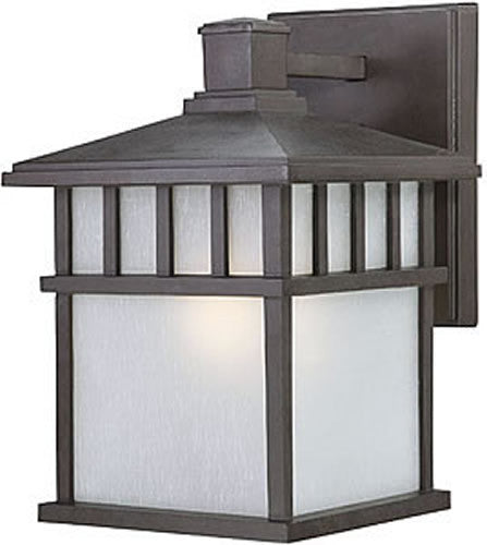 "11""H Barton Outdoor Wall Lighting Olde World Iron"