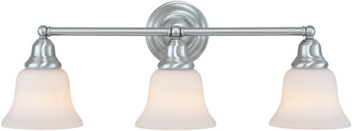 Dolan Designs Brockport 3-Light Vanity Strip Satin Nickel 49309
