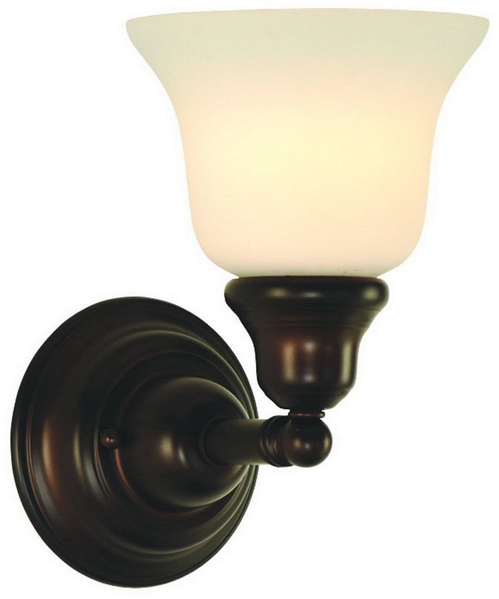 "8""w Brockport 1-Light Wall Sconce Royal Bronze"