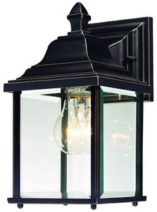"11""H Charleston 1-Light Exterior Wall Antique Bronze"