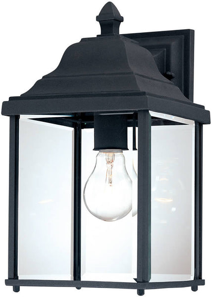 Dolan Designs Charleston 1-Light Wall Black 93550