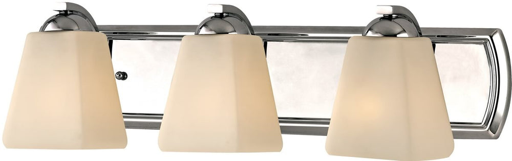 "24""w Hammond 3-Light Bath Vanity Chrome"