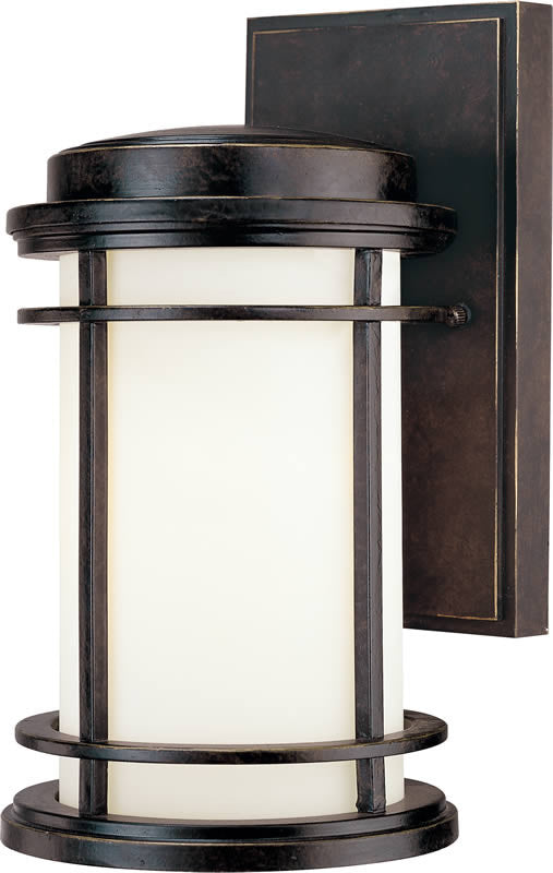 "11""H La Mirage 1-Light Outdoor Wall Lantern Winchester"