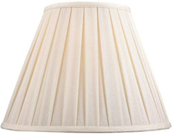 Dolan Designs 8 T x 16 B x 12 H Full Size Off White Linen Box Pleat Shade 140131