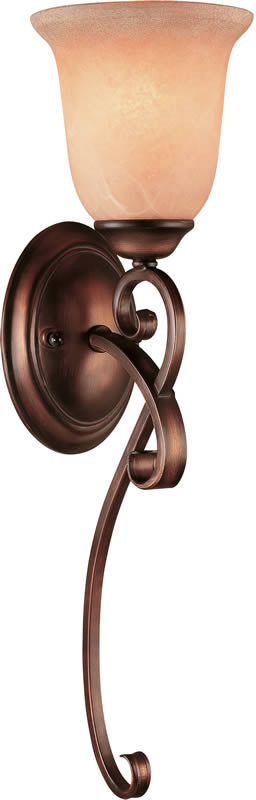 "6""W Medici Wall Sconce English Bronze"
