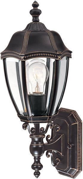 "20""h Roseville 1-Light Outdoor Wall Lantern Antique Bronze"