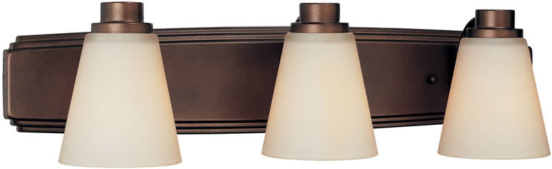 "24""w Southport 3-Light Bath Heirloom Bronze"