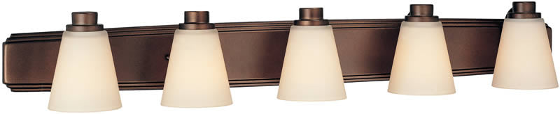 "39""W Southport 5-Light Bath Heirloom Bronze"