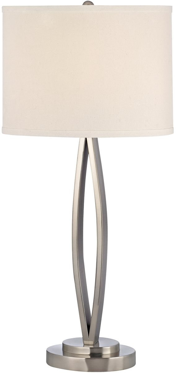 "29""H Table Lamp Satin Nickel"