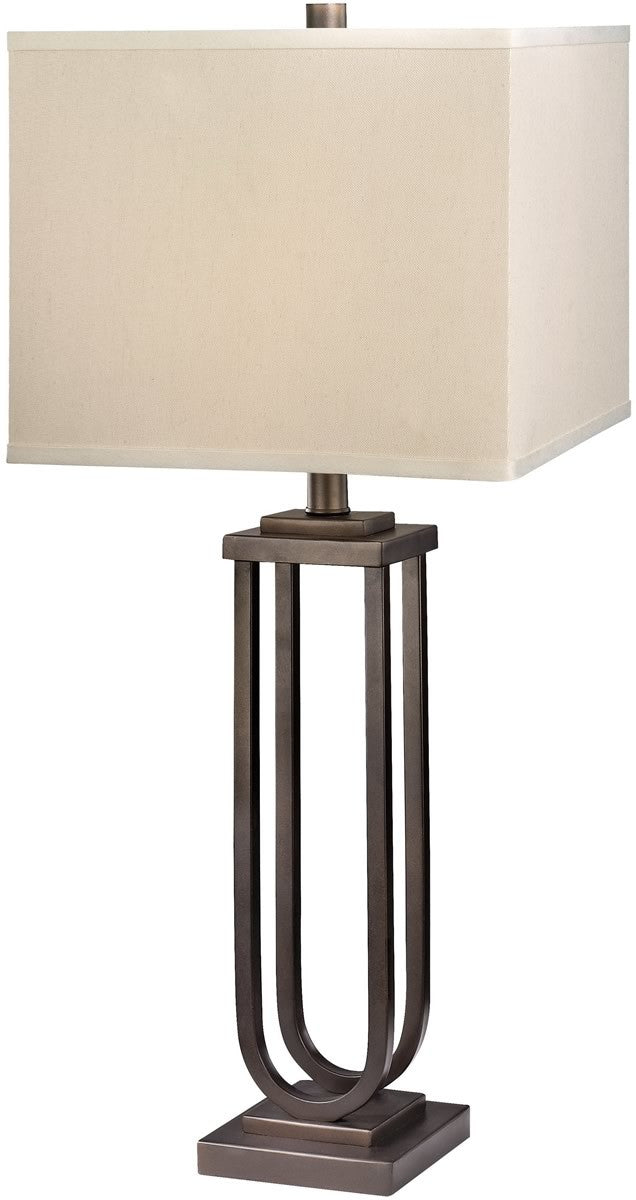 "28""H Table Lamp Classic Bronze"