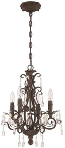 0-010513>Englewood 4-Light Chandelier French Roast