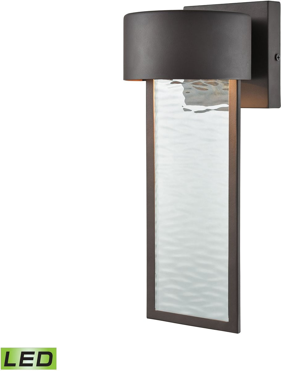 "13""H Julius Outdoor LED Wall Sconce Clay Bronze"