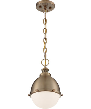 Ronan 1-Light Pendant Burnished Brass