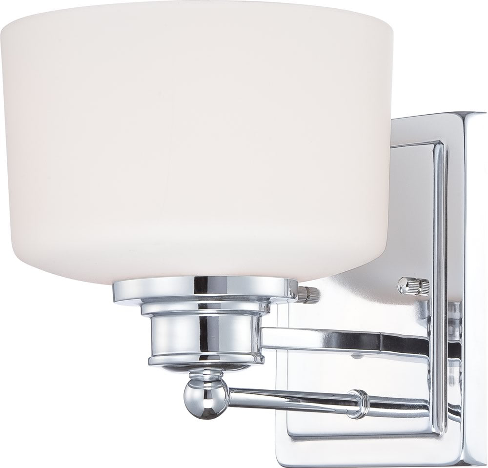 "8""W Soho 1-Light Vanity & Wall Polished Chrome"